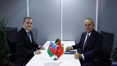 Թուրքիայի և Ադրբեջանի արտաքին գործերի նախարարները տարածաշրջանային հարցեր են քննարկել |armenpress.am|
