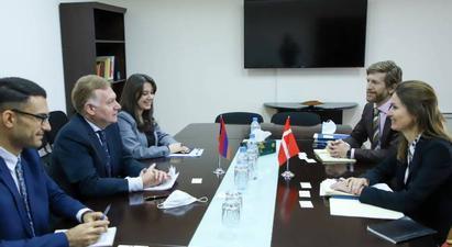 Հայաստանի և Դանիայի ԱԳ նախարարությունները քաղաքական խորհրդակցություններ են անցկացրել
