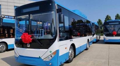Պատվիրված 8.6 մետրանոց ավտոբուսներից 53-ն արդեն Երեւանում են |armtimes.com|