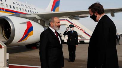 Փաշինյանը Մոսկվայում է․ նախատեսված է նրա հանդիպումը Պուտինի հետ
