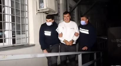 Սաակաշվիլին բանտից աջակիցներին ակտիվ գործողությունների անցնելու կոչ է անում |azatutyun.am|