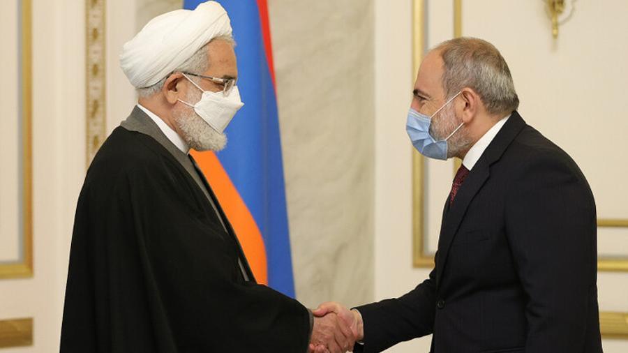 Փաշինյանն ընդունել է Իրանի գլխավոր դատախազին