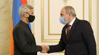 We have clear vision of what we should cooperate over – PM Pashinyan receives Indian Foreign Minister