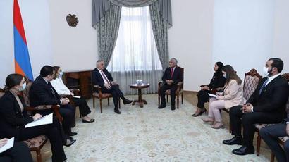 Մհեր Գրիգորյանն ընդունել է Արաբական Միացյալ Էմիրությունների վերահսկիչ պալատի նախագահին