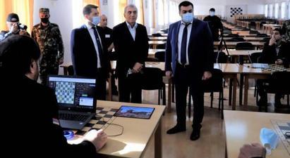 Հայ դատապարտյալները մասնակցում են շախմատի աշխարհի առաջին առցանց առաջնությանը․ Կարեն Անդրեասյանը հետևում է խաղին  armenpress.am 