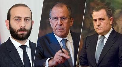 Տեղի է ունեցել Հայաստանի, Ռուսաստանի ու Ադրբեջանի ԱԳ նախարարների հանդիպումը