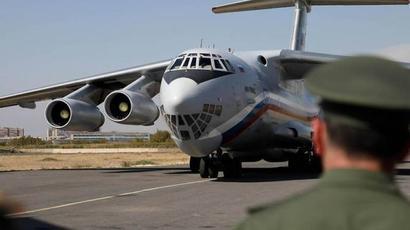 ՌԴ պաշտպանության նախարարությունից ՀՀ ՊՆ-ին փոխանցված 50.000 դեղաչափ «Սպուտնիկ-Վ» պատվաստանյութը Երևանում է