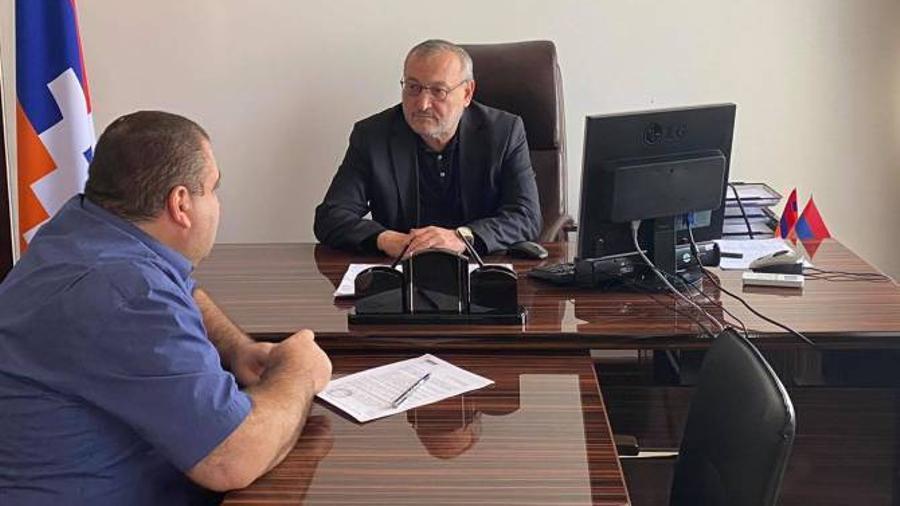 Արցախի ԱԺ նախագահն աշխատանքային այցով Երևանում է