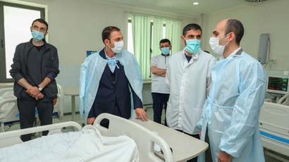 Արտակ Բեգլարյանն այցելել է վիրավոր 6 զինծառայողներին