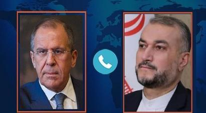 Իրանի և ՌԴ ԱԳ նախարարները հեռախոսազրույց են ունեցել   tert.am 