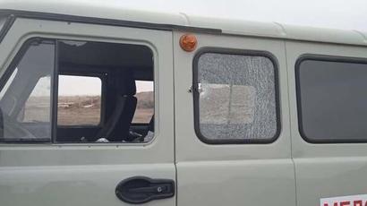 Ադրբեջանական կողմը կրակ է բացել ՊԲ ստորաբաժանման սանիտարական մեքենայի ուղղությամբ. տուժածներ չկան