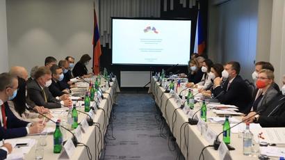 Երևանում կայացել է հայ-չեխական միջկառավարական հանձնաժողովի հինգերորդ նիստը