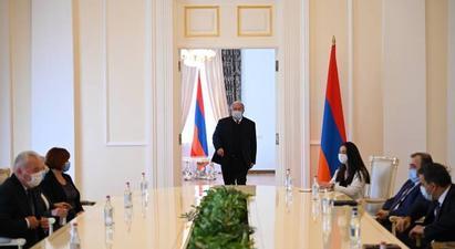Նախագահ Արմեն Սարգսյանն ընդունել է Ուկրաինայի Գերագույն ռադայի մարդու իրավունքների հանձնակատարին