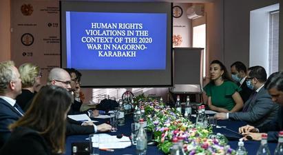 Արման Թաթոյանն ու Սիրանուշ Սահակյանը ադրբեջանական խախտումները փաստերով ներկայացրել են Եվրոպայի խորհրդի նախարարների կոմիտեի անդամ դեսպաններին