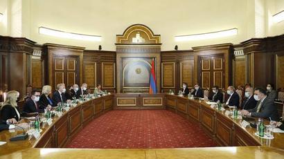 Մենք հավատարիմ ենք ժողովրդավարական բարեփոխումների քաղաքական ուղեգծին. վարչապետն ընդունել է ԵԽ պատվիրակությանը