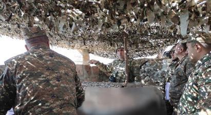 ՊՆ N զորամիավորման ենթակա զորամասերից մեկն անցկացրել է մարտավարական զորավարժություն