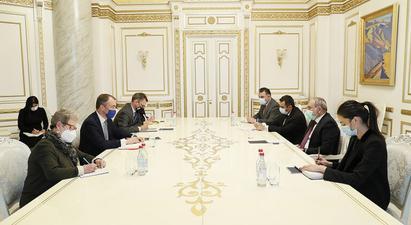 Նիկոլ Փաշինյանն ընդունել է Հարավային Կովկասի հարցերով ԵՄ հատուկ ներկայացուցչին