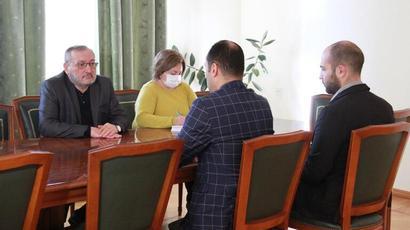 Արցախի ԱԺ նախագահ Արթուր Թովմասյանը ընդունել է իրավապաշտպան Արտակ Զեյնալյանին