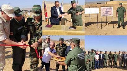 Հայաստանի հումանիտար առաքելության խմբի ականազերծած տարածքները հանձնվել են Հալեպի իշխանությունների