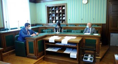 Արման Եղոյանը հանդիպել է Իտալիայի խորհրդարանի արտաքին հարաբերությունների հանձնաժողովների նախագահների հետ