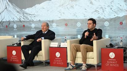 ՀՀ նախագահը և Yandex-ի փոխտնօրենը «Մտքերի հայկական գագաթնաժողով»-ում քննարկել են տեխնոլոգիաների ընձեռած հնարավորությունները