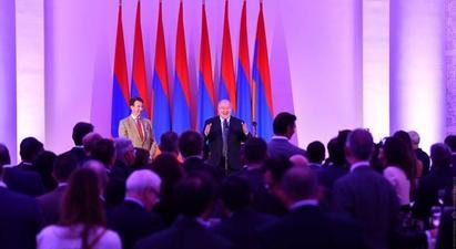 Նոր աշխարհում Հայաստանի նման փոքր երկրների համար նոր հնարավորություններ են լինելու. նախագահի նստավայրում պաշտոնական ընդունելություն է եղել