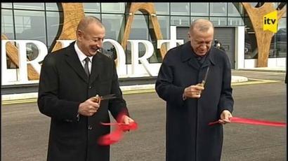 Էրդողանի օդանավը վայրէջք է կատարել  Վարանդայում․ Ադրբեջանի և Թուրքիայի նախագահները բացել են տեղի օդանավակայանը |factor.am|