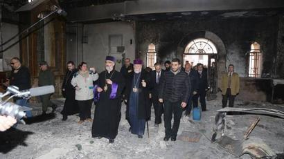 Մեծի Տանն Կիլիկիո կաթողիկոսության աջակցությամբ Հալեպում վերանորոգվում են Ս. Գևորգ եկեղեցին և ՀՄԸՄ-ի մարզադաշտը