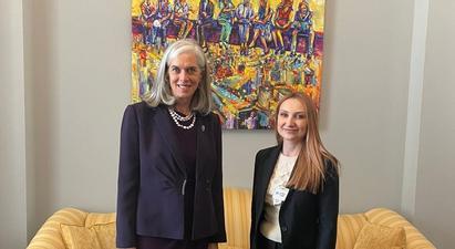 Լիլիթ Մակունցը հանդիպել է ԱՄՆ ներկայացուցիչների պալատի խոսնակի օգնական Քեթրին Քլարկի հետ