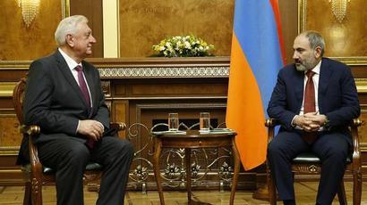 Փաշինյանը և Մյասնիկովիչը քննարկել են ԵԱՏՄ շրջանակում համագործակցության զարգացմանն ուղղված հարցեր