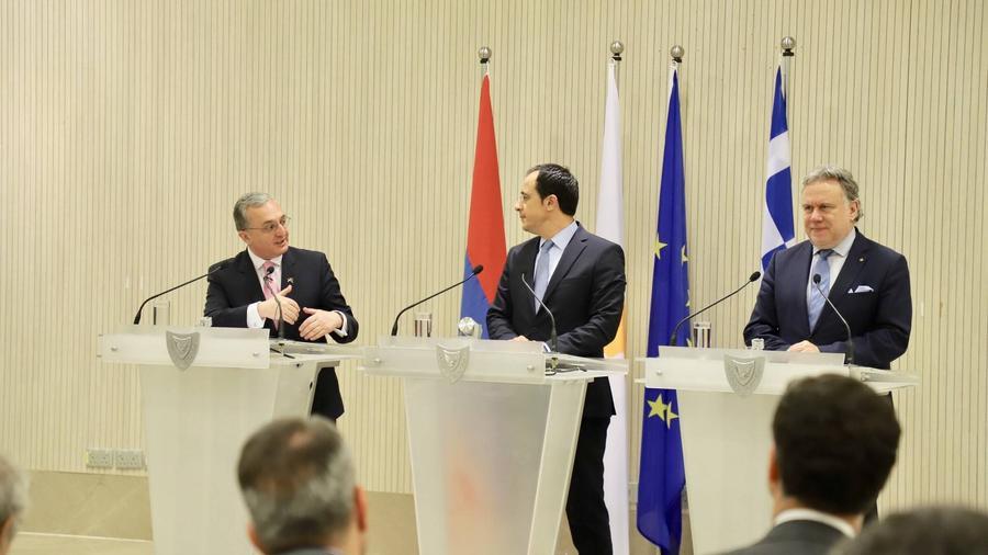 ՀՀ, Հունաստանի և Կիպրոսի ղեկավարների մակարդակով առաջին գագաթնաժողովը ՀՀ-ում՝ 2020-ին
