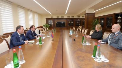 Քննարկվել են պաշտպանության ոլորտում Հայաստանի և Ֆինլանդիայի համագործակցության զարգացման հեռանկարները