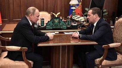 Պուտինը Մեդվեդեւին նշանակեց ՌԴ Անվտանգության խորհրդի փոխնախագահ |armenpress.am|