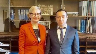 Մխիթար Հայրապետյանը հանդիպել է Ֆինլանդիայի խորհրդարանի իր գործընկերոջը |armenpress.am|