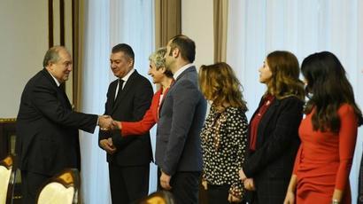 Արմեն Սարգսյանն ընդունել է Հայաստանում Ամերիկայի առևտրի պալատի ներկայացուցիչներին