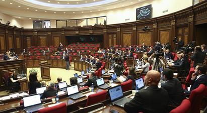 Ազգային ժողովի նիստերի օրակարգը չհաստատվեց |armenpress.am|